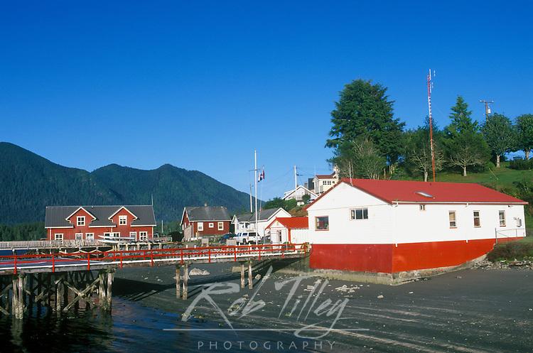 N.A., Canada, British Columbia, Vancouver Island, Tofino Waterfront