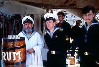 equipaggio del veliero russo Sedov