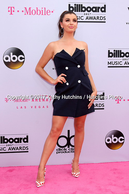LAS VEGAS - MAY 21:  Rebecca Black at the 2017 Billboard Music Awards - Arrivals at the T-Mobile Arena on May 21, 2017 in Las Vegas, NV
