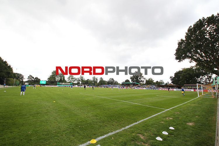 12.09.2020, JODA Sportpark, Todesfelde, GER, DFB-Pokal Runde1 SV Todesfelde vs. VfL Osnabrueck <br /> <br /> DFB REGULATIONS PROHIBIT ANY USE OF PHOTOGRAPHS AS IMAGE SEQUENCES AND/OR QUASI-VIDEO.<br /> <br /> im Bild / picture shows<br /> Jorda Sportpark des SV Todesfelde<br /> <br /> Foto © nordphoto / Tauchnitz