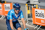 Alejandro Valverde (ESP) Movistar Team crosses the finish line of the 2018 Liège - Bastogne - Liège (UCI WorldTour), Belgium, 22 April 2018, Photo by Thomas van Bracht / PelotonPhotos.com
