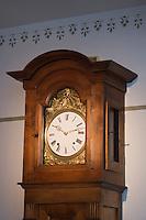"""Europe/France/Aquitaine/40/Landes/ Montfort-en-Chalosse: """"Le Musée de la Chalosse"""" l'horloge"""