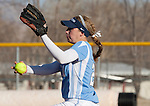 March 10, 2012:   San Diego Toreros pitcher Jenny Lahitte throws against the Nevada Wolf Pack during their NCAA softball game played as part of the The Wolf Pack Classic at Christina M. Hixson Softball Park on Saturday in Reno, Nevada.