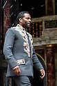 """London, UK. 22.06.2016.  Shakespeare's Globe presents """"Macbeth"""", by William Shakespeare, directed by Iqbal Khan.  Picture shows: Ray Fearon (Macbeth).  Photograph © Jane Hobson."""