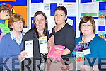 Veronica Murphy, Natasha O'Donoghue, Mary Murphy and Connie O'Leary from Ballyspillane and South Kerry Family Resource centres at the Mental Health Wellness open day in the Killarney Sports Centre on Sunday ..
