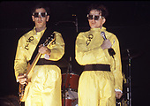 DEVO; 1979; Live<br /> Photo Credit: Ron Akiyama\AtlasIcons.com