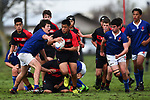 NELSON, NEW ZEALAND - SEPTEMBER 30: Nelson Bays U13 v Canterbury Metro U13 at Jubilee Park on September 30, 2017 in Nelson, New Zealand. (Photo by: Chris Symes/Shuttersport Limited)