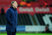 Steve Cooper Head Coach of Swansea City during the Sky Bet Championship match between Swansea City and Queens Park Ranger at the Liberty Stadium in Swansea, Wales, UK. Tuesday 11 February 2020