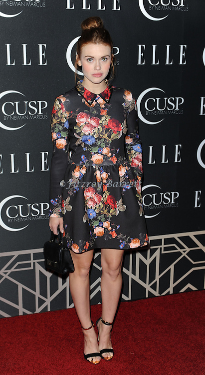 Holland Roden arriving at 'ELLE 5th Annual Women In Music Concert Celebration' held at the Avalon Los Angeles, CA. April 22, 2014.