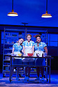 Waitress.A Musical. Music and Lyrics by Sara Bareilles,Book by Jessie Nelson, Based on the movie written by Adrienne Shelly. Directed by Diane Paulus.With Laura Baldwin as Dawn,Katherine McPhee as Jenna, Marisha Wallace as Becky. Opens at The Adelphi Theatre on 7/3/19 pic Geraint Lewis EDITORIAL USE ONLY