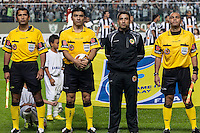 BELO HORIZONTE, MG, 30 MAIO 2013 - LIBERTADORES - ATLÉTICO MG X TIJUANA (MEX) -Àrbitros durante partida do Atlético Mineiro contra o Tijuana (México), jogo valido pela partida de volta das quartas de final da Taça Libertadores da América no estádio Independencia em Belo Horizonte, na noite desta quinta-feira, 30. (FOTO: NEREU JR / BRAZIL PHOTO PRESS).