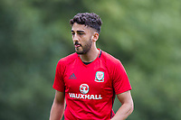 Neil Taylor during Wales national team training at Vale Resort, Hensol, Wales on 4 September 2017, ahead of the side's World Cup Qualification match against Moldova. Photo by Mark  Hawkins.
