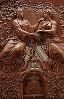 Europe/France/Champagne-Ardenne/51/Marne/Epernay: Champagne Mercier - Le foudre géant de l'exposition universelle (détail)