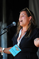 Courtney Brown performs at Waifest 2018 at Queen Elizabeth Park in Masterton, New Zealand on Tuesday, 6 February 2018. Photo: Dave Lintott / lintottphoto.co.nz