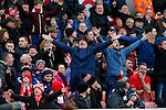 Stoke fans in full voice - Football - Barclays Premier League - Stoke City vs Manchester City - Britannia Stadium Stoke - December 5th 2015 - Season 2015/2016 - Photo Malcolm Couzens/Sportimage