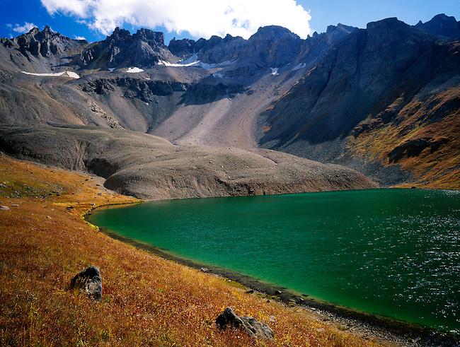 Upper Blue Lake; Mount Sneffels wilderness, Colorado