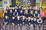 Currow NS junior infants enjoying school on Friday front row l-r: Daniel Daly, David McCarthy, David Healy, Luke Toomy, Mark O'Connor, Julien Murphy, Jasmine O'Sullivan. Middle row: Olivia Key, Zara Fealey, Lily McSweeney, Aine Broderick, Aoife Roche, Amber Foley, Caoimhe Scanlon.  Back row: Claudia Burton, Daniel Cronin, Sean Brosnan, Dominick Peters, Owen O'Connor, Ella Fitzgerald, Laura Daly, Ailbhe Fleming and E?abann Kearney.