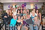 0880-0883.---------.Nifty at 50.-----------.Noreen O'Halloran(seated centre)from Rathoonane,Tralee enjoying her 50th birthday party last Saturday night in Kirby's Brogue Inn,Rock St Tralee surrounded by many friends and family.