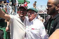 PORTO ALEGRE, 10.11.2018 - AUTOMOBILISMO-RS - Jackie Stewart tricampeão mundial da F1 (1969, 1971 e 1973) durante a Heineken F1 Experience em Porto Alegre neste sábado, 10.(Foto: Naian Meneghetti/Brazil Photo Press)