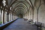 Salisbury Cathedral Church Cloister, England, UK