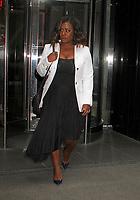 NEW YORK, NY - APRIL 19:   Uzo Adubo, star of 'Orange is the New Black' seen in New York, New York on April 19 , 2017.  <br /> CAP/MPI/RMP<br /> &copy;RMP/MPI/Capital Pictures