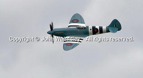 Supermarine Spitfire at the Farnborough International Airshow .