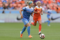 Houston, TX - The Houston Dash defeated the Chicago Red Stars 2-0 on Saturday April 15, 2017: Julie Ertz during a regular season National Women's Soccer League (NWSL) match at BBVA Compass Stadium.