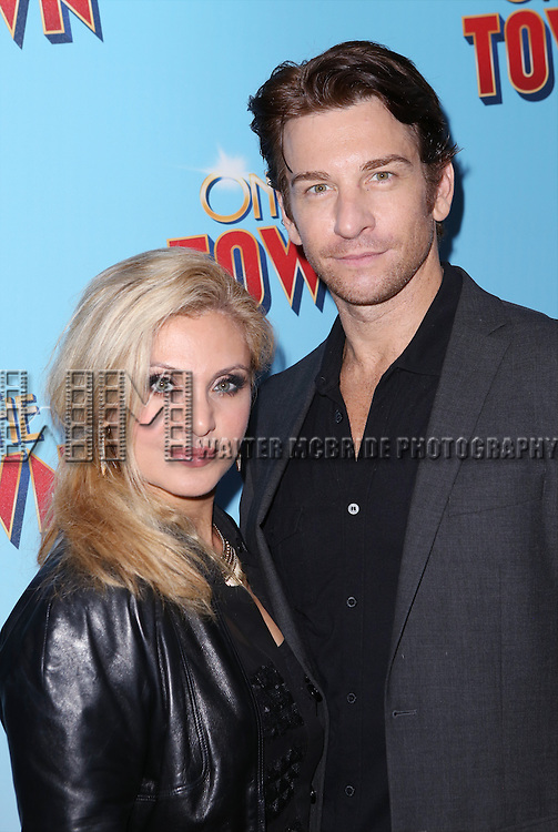 Orfeh and Andy Karl attend the Broadway Opening Night Performance of 'On The Town'  at the Lyric Theatre on October 16, 2014 in New York City.