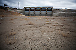 LOVELOCK, NV - JANUARY 29, 2014: The Rye Patch reservoir sits at 3.5% capacity as a drought emergency is declared in Nevada. CREDIT: Max Whittaker for The New York Times