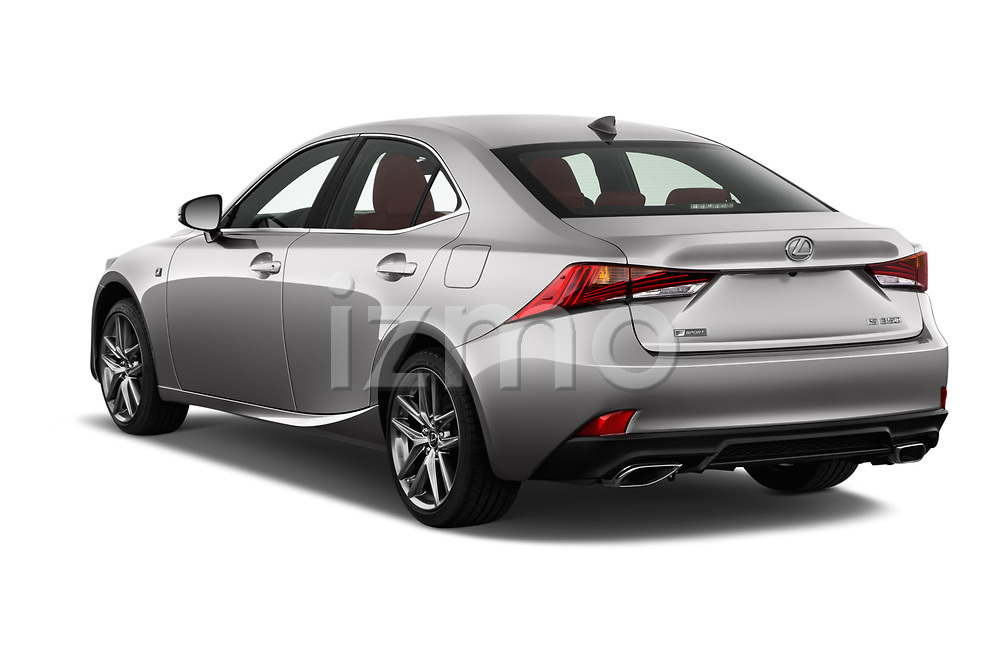 Car pictures of rear three quarter view of 2017 Lexus IS 350 4 Door Sedan Angular Rear