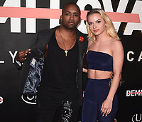 """LOS ANGELES- OCTOBER 11:  Swoozie at the premiere of """"Demi Lovato: Simply Complicated"""" at The Fonda Theatre on October 11, 2017 in Los Angeles, California. (Photo by Scott Kirkland/PictureGroup)"""