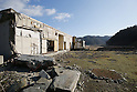The remains of Okawa Elementary School on March 11, 2016 in Ishinomaki, Miyagi Prefecture, Japan. Exactly 5 years earlier 74 out of the school's 108 students lost their lives as a result of the tsunami on March 11th, 2011. There are plans to rebuild the school but as yet this has not been fixed. The fate of the destroyed buildings is also expected to be decided soon with residents of the town divided as to whether they should be preserved as a memorial or removed. (Photo by Yusuke Nakanishi/AFLO)
