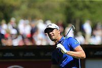 Haydn Porteous (RSA) tees off the 6th tee during Sunday's Final Round 4 of the 2018 Omega European Masters, held at the Golf Club Crans-Sur-Sierre, Crans Montana, Switzerland. 9th September 2018.<br /> Picture: Eoin Clarke | Golffile<br /> <br /> <br /> All photos usage must carry mandatory copyright credit (© Golffile | Eoin Clarke)