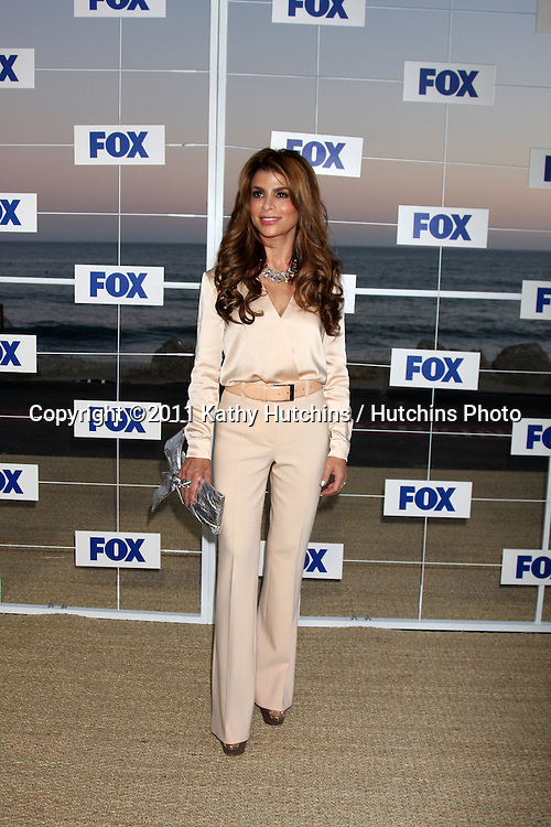 LOS ANGELES - AUG 5:  Paula Abdul arriving at the FOX TCA Summer 2011 Party at Gladstones on August 5, 2011 in Santa Monica, CA