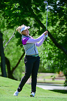 Brooke M. Henderson (CAN) watches her tee shot on 13 during round 1 of  the Volunteers of America Texas Shootout Presented by JTBC, at the Las Colinas Country Club in Irving, Texas, USA. 4/27/2017.<br /> Picture: Golffile | Ken Murray<br /> <br /> <br /> All photo usage must carry mandatory copyright credit (&copy; Golffile | Ken Murray)