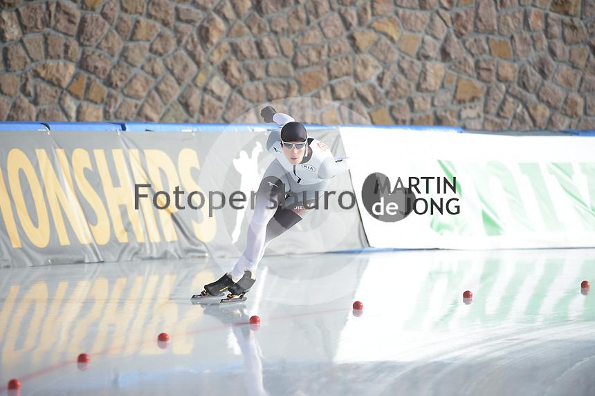 SPEED SKATING: COLLALBO: Arena Ritten, jan. 2019, ISU European Speed Skating Championships, ©photo Martin de Jong
