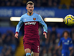 Andriy Yarmolenko of West Ham United during the Premier League match at Stamford Bridge, London. Picture date: 30th November 2019. Picture credit should read: Robin Parker/Sportimage