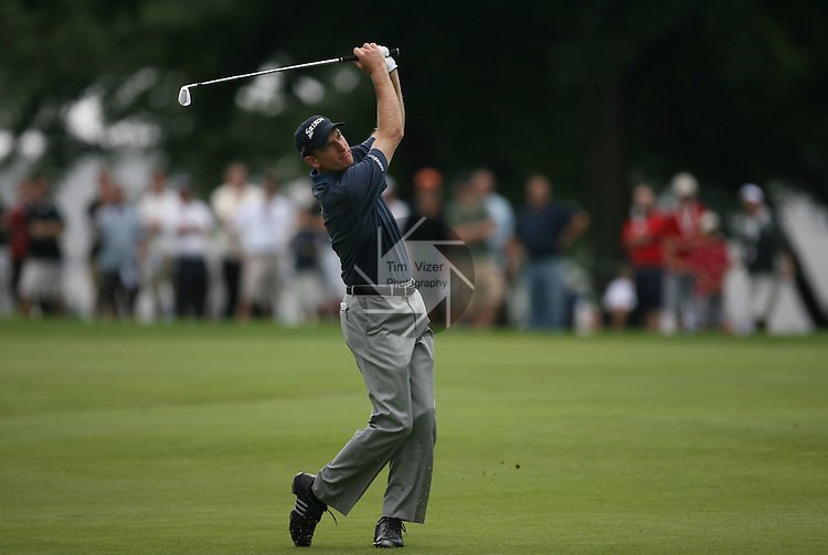 7 September 2008:      in the fourth and final round of play at the BMW Golf Championship at Bellerive Country Club in Town & Country, Missouri, a suburb of St. Louis, Missouri on Sunday September 7, 2008. The BMW Championship is the third event of the PGA's  Fed Ex Cup Tour.