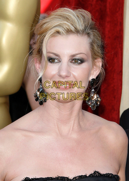 FAITH HILL.The 82nd Annual Academy Awards held aat The Kodak Theatre in Hollywood, California, USA..March 7th, 2010.oscars headshot portrait strapless dangling silver earrings .CAP/EAST.©Eastman/Capital Pictures.