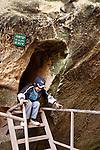 Israel, the Shephelah. The Jewish burial cave at Hurbat Midras