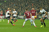 Tom Cairney of Fulham shoots during West Ham United vs Fulham, Premier League Football at The London Stadium on 22nd February 2019