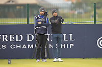 Joakim Lagergren (SWE) on the 17th tee during Round 4 of the Alfred Dunhill Links Championship 2019 at St. Andrews Golf CLub, Fife, Scotland. 29/09/2019.<br /> Picture Thos Caffrey / Golffile.ie<br /> <br /> All photo usage must carry mandatory copyright credit (© Golffile | Thos Caffrey)