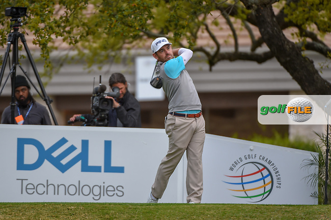 Louis Oosthuizen (RSA) watches his tee shot on 1 during day 4 of the WGC Dell Match Play, at the Austin Country Club, Austin, Texas, USA. 3/30/2019.<br /> Picture: Golffile   Ken Murray<br /> <br /> <br /> All photo usage must carry mandatory copyright credit (© Golffile   Ken Murray)