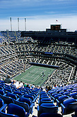US Open 2000, New York, USA. Overview from top of Arthur Ashe Stadium, Flushing Meadows.
