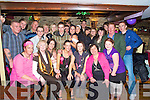 Colleen Maylor , Killorglin and Siobhan Casey, Cromane, pictured with family and friends as they celebrated their 18th birthdays in Kingstons Bar, Killorglin, on Friday night.