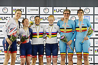 Picture by Simon Wilkinson/SWpix.com - 02/03/2017 - Cycling 2017 UCI Para-Cycling Track World Championships, Los Angeles USA -Podium<br />