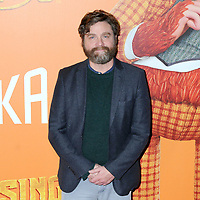 07 April 2019 - New York, New York - Zach Galifianakis at the New York Premiere of &quot;MISSING LINK&quot;, held at Regal Cinemas Battery Park II.<br /> CAP/ADM/LJ<br /> &copy;LJ/ADM/Capital Pictures