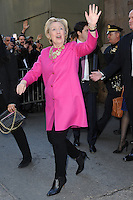 www.acepixs.com<br /> February 16, 2017  New York City<br /> <br /> Hillary Clinton at the press conference for The Oscar de la Renta Forever Stamp First-Day-of-Issue Stamp Dedication Ceremony, Vanderbilt Hall at Grand Central Station on February 16, 2017 in New York City.<br /> <br /> Credit: Kristin Callahan/ACE Pictures<br /> <br /> <br /> Tel: 646 769 0430<br /> Email: info@acepixs.com