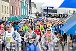 Wet start for the Dingle Marathon on Saturday morning.
