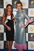Michelle Heaton and Victoria Darbyshire<br /> arriving for the RTS Awards 2019 at the Grosvenor House Hotel, London<br /> <br /> ©Ash Knotek  D3489  19/03/2019